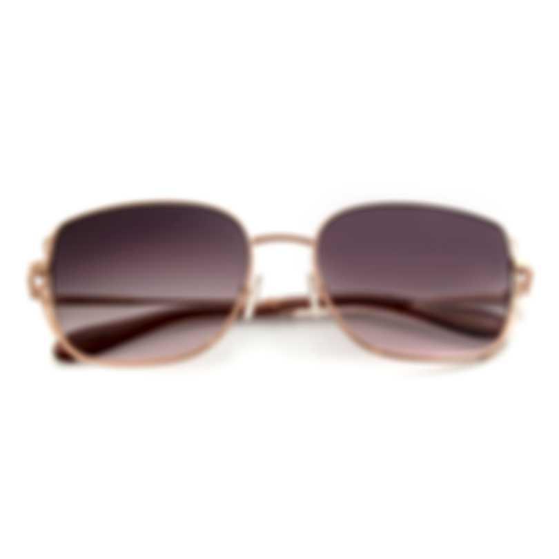 BCBG Rose Gold & Brown Retro Sunglasses BA4035-780