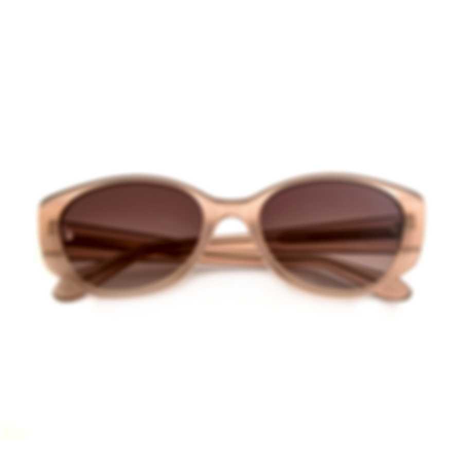 BCBG Neutral Blush & Brown Cat Eye Sunglasses BA5005-651