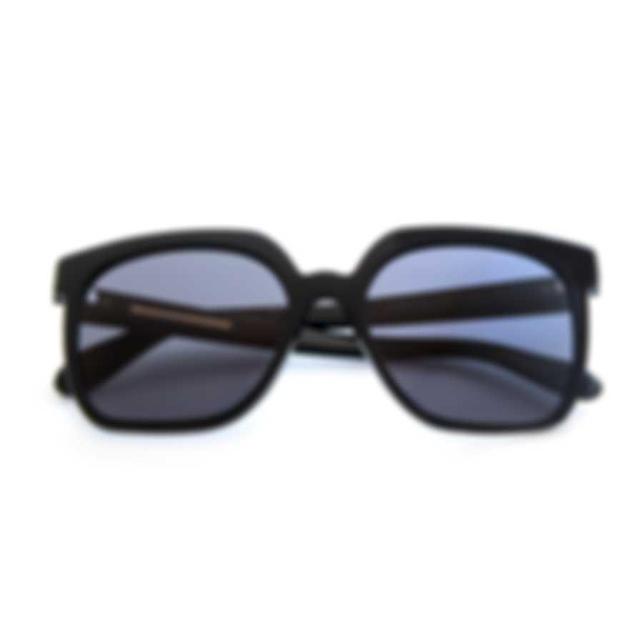 BCBG Black & Black Retro Sunglasses BA5017-001