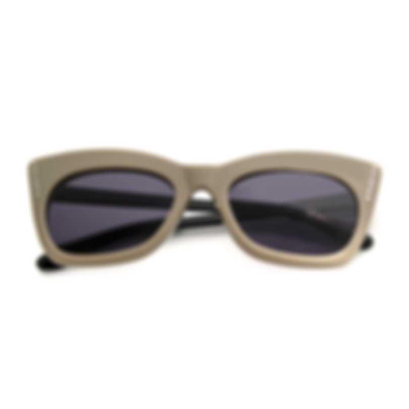BCBG Beige & Black Cat Eye Sunglasses BA5010-264