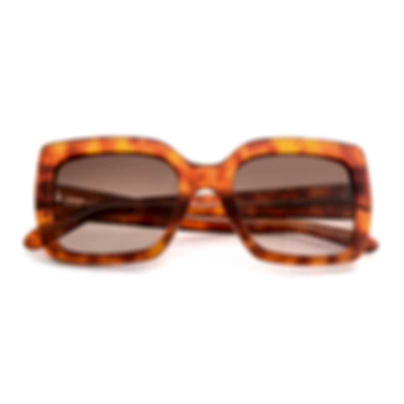 BCBG Tortoise & Brown Retro Sunglasses BA5021-318