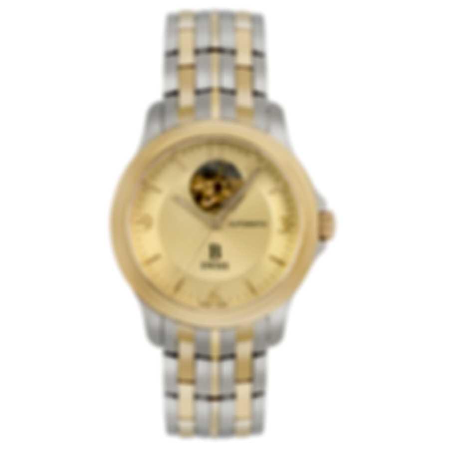 B Swiss By Bucherer Prestige Open Heart  Automatic Men's Watch 00.50501.34.46.22