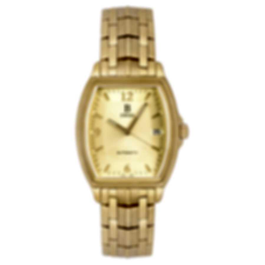 B Swiss By Bucherer Prestige Tonneau Automatic Men's Watch 00.50505.10.46.21