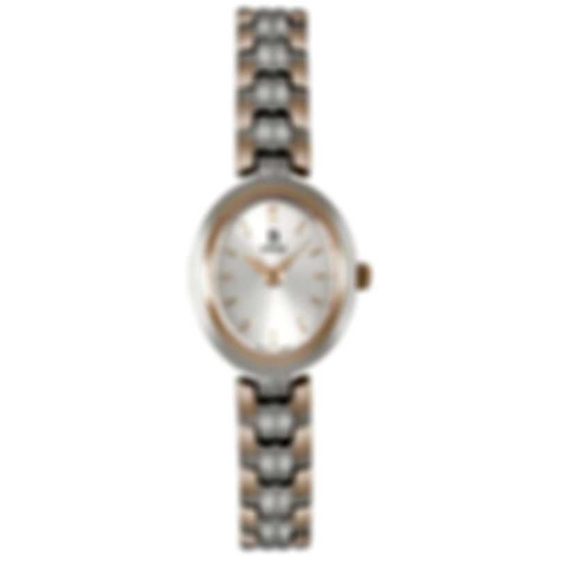 B Swiss By Bucherer Dress Oval Quartz Ladies Watch 00.90005.35.13.21
