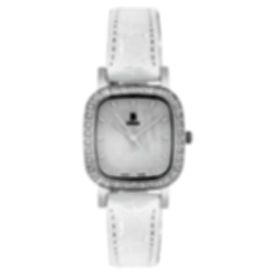 B Swiss By Bucherer Dress Square Quartz Ladies Watch 00.90012.08.73.11