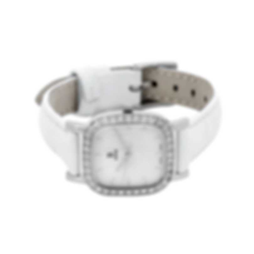 B Swiss By Bucherer Dress Square Quartz Ladies Watch 00.90012.08.73.11