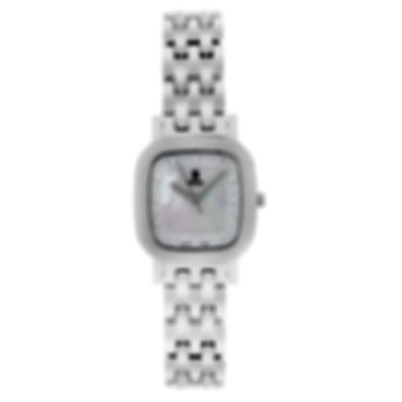 B Swiss By Bucherer Dress Square Quartz Ladies Watch 00.90012.08.73.21