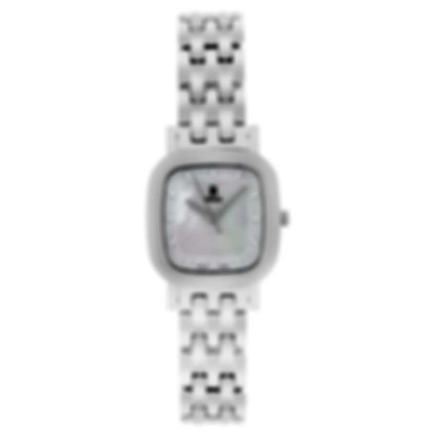 B Swiss By Bucherer Dress Square Quartz Ladies Watch 00.90012.08.73.21