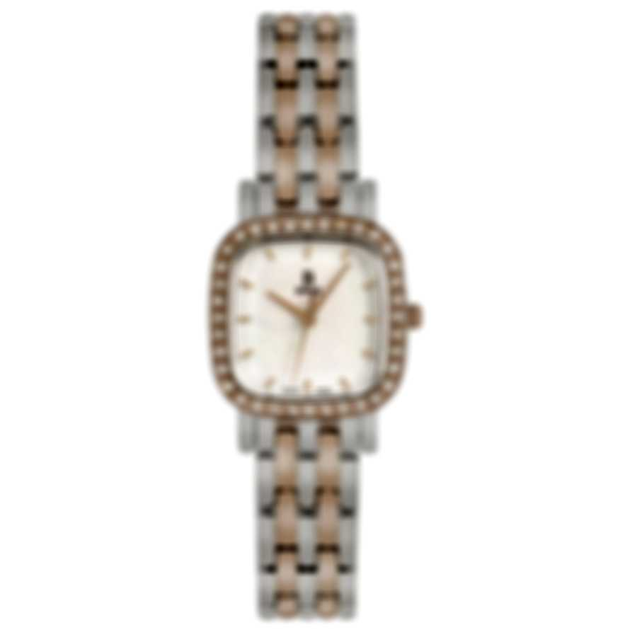 B Swiss By Bucherer Dress Square Quartz Ladies Watch 00.90012.35.73.31