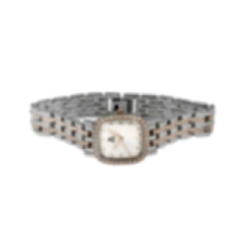 B Swiss By Bucherer Dress Square Quartz Ladies Watch 00.90012.35.73.31