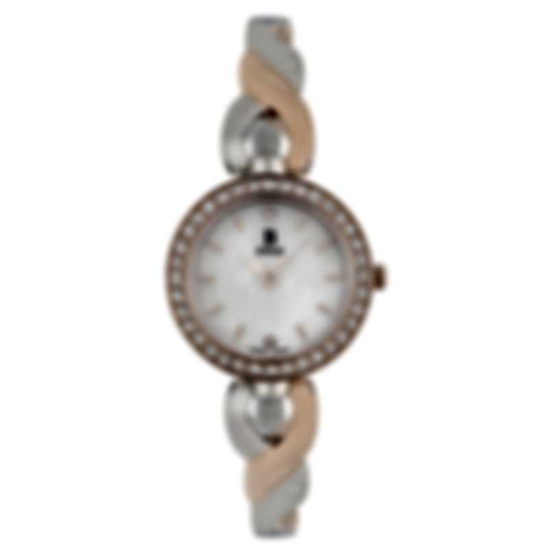 B Swiss By Bucherer Dress Round Quartz Ladies Watch 00.90014.35.79.31