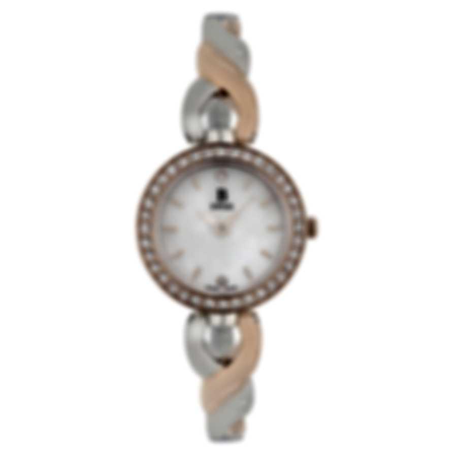 B Swiss By Bucherer Dress Round Quartz Ladies Watch 00.90014.35.79.31