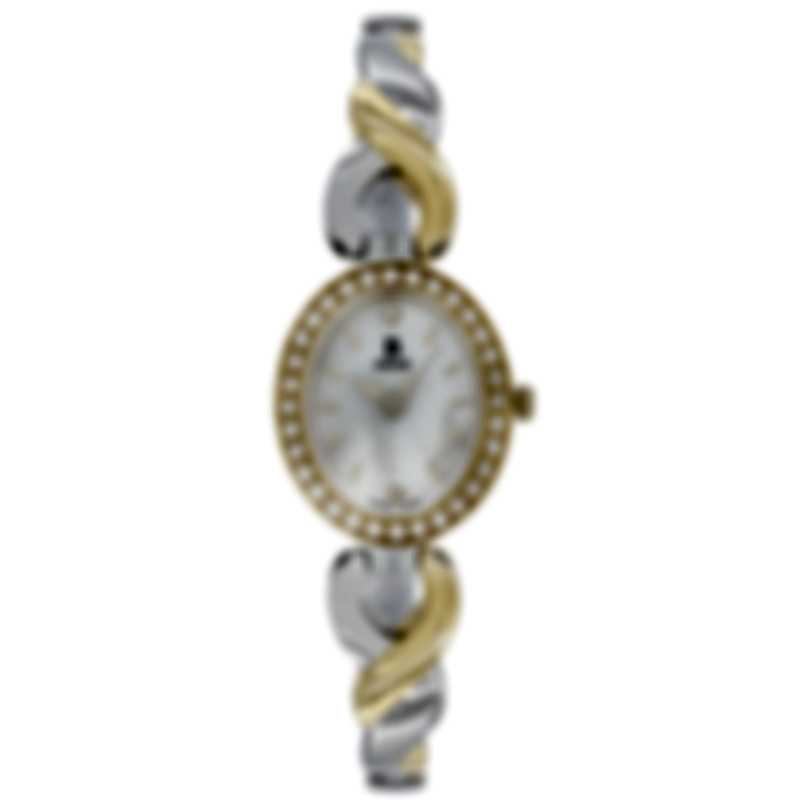 B Swiss By Bucherer Dress Oval Quartz Ladies Watch 00.90016.34.79.31