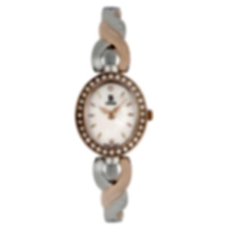 B Swiss By Bucherer Dress Oval Quartz Ladies Watch 00.90016.35.79.31