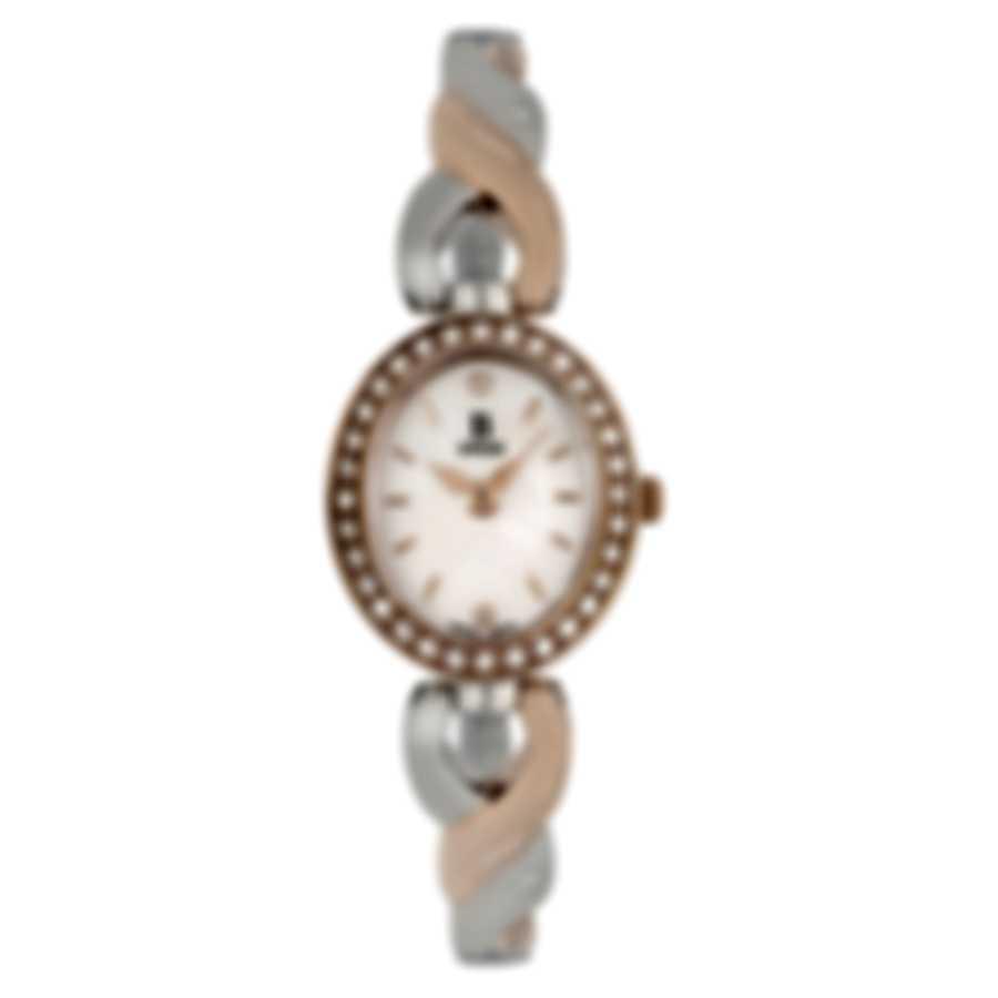 B Swiss By Bucherer Dress Oval Quartz Ladies Watch 00.90016.35.79.31