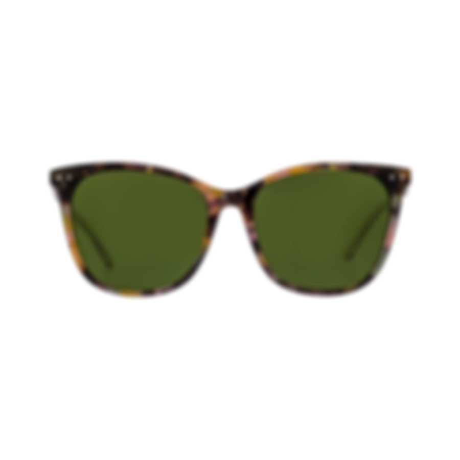 Bottega Veneta Havana Pink Green Acetate Women's Sunglasses BV0079S-005 MSRP $430.00