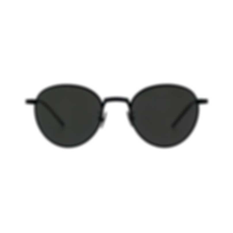 Bottega Veneta Black And Gray Metal Men's Sunglasses BV0110S-001 MSRP $650.00