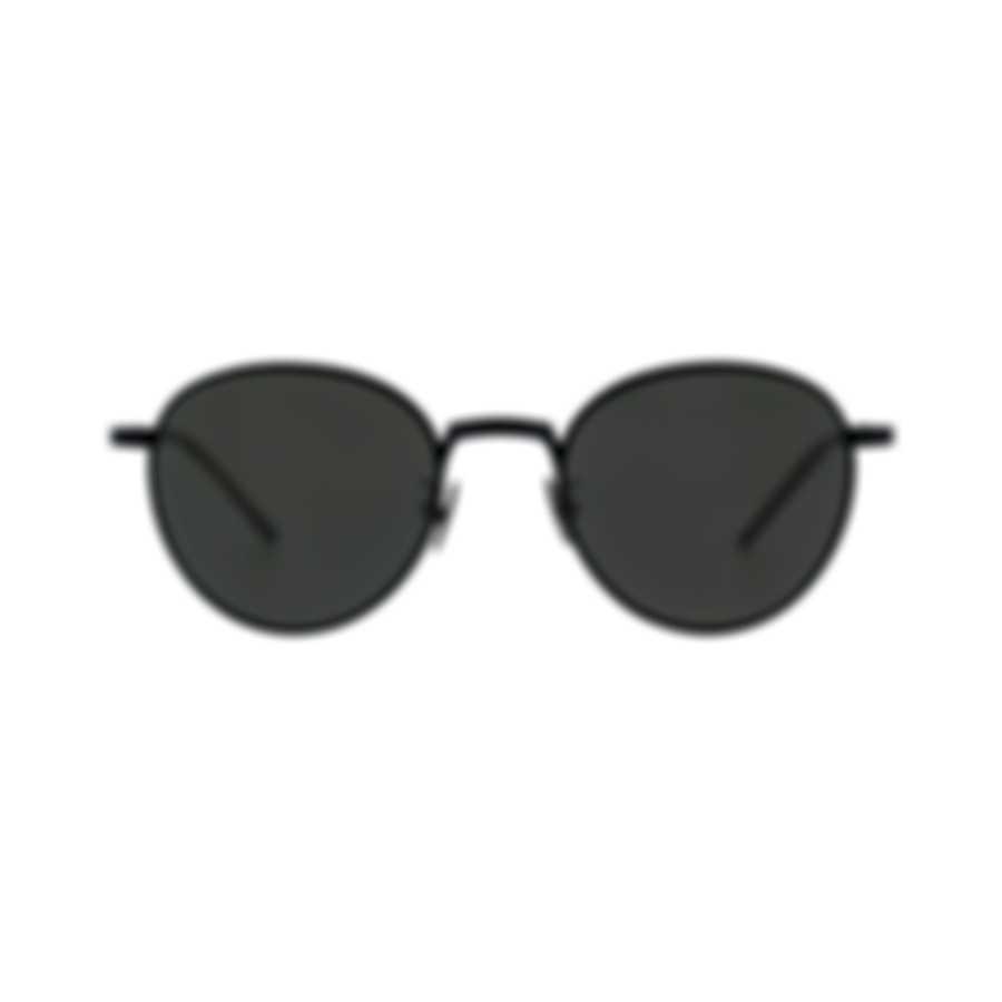 Bottega Veneta Black And Gray Metal Men's Sunglasses BV0110S-001 MSRP $650.00