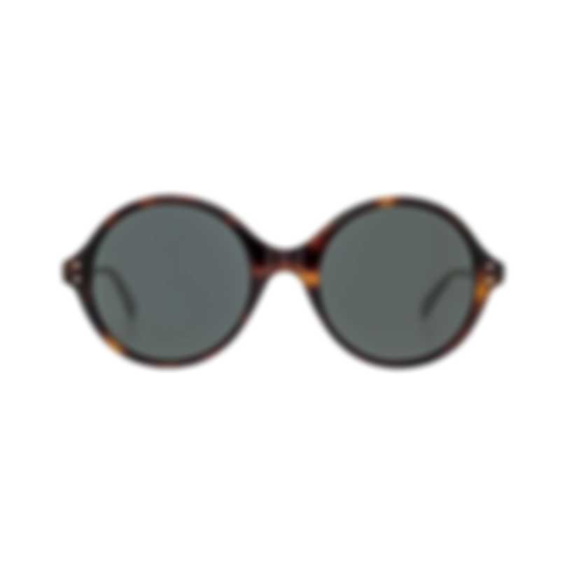 Bottega Veneta Havana Brown Metal Women's Sunglasses BV0127S-002 MSRP $360.00