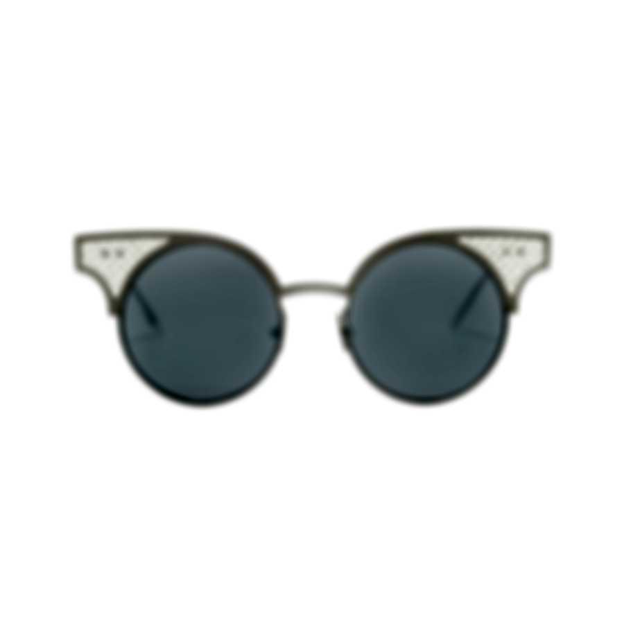Bottega Veneta Special Edition Silver Silver Silver Women's Sunglasses BV15-30001109001