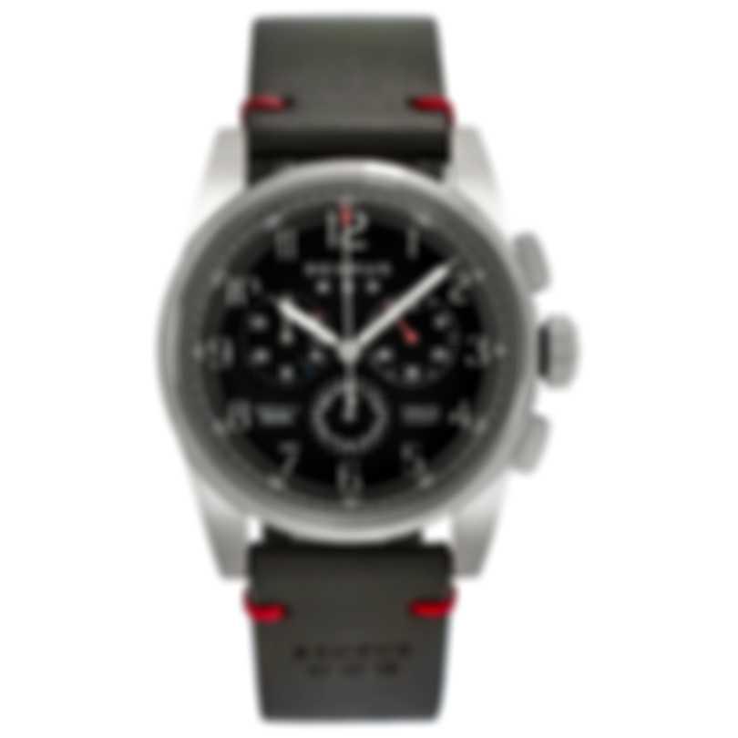 Benrus Air Chief Chronograph Quartz Men's Watch AC1-SA-BK-LG