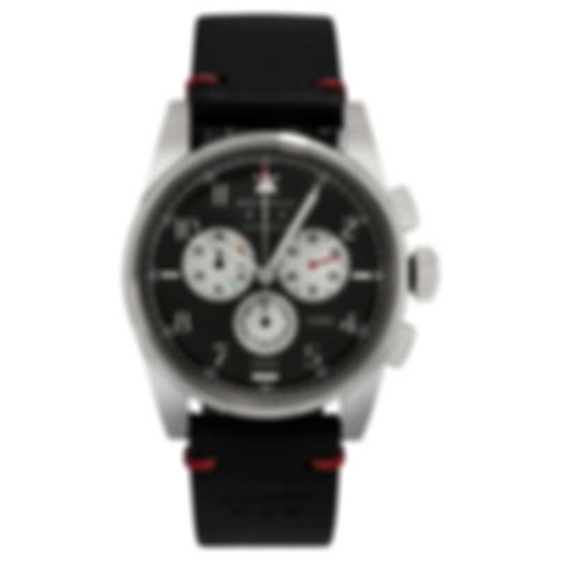 Benrus Air Chief Chronograph Quartz Men's Watch AC2-P-BK-LBK