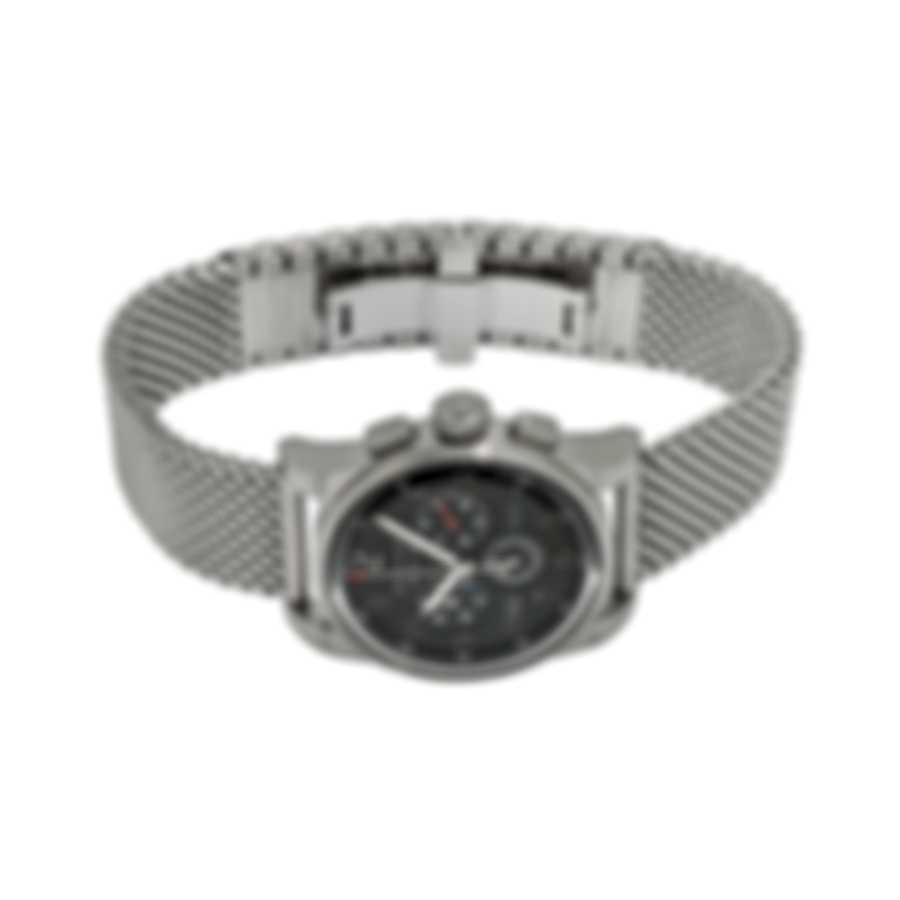Benrus Air Chief Chronograph Quartz Men's Watch AC3-SA-BK-SM