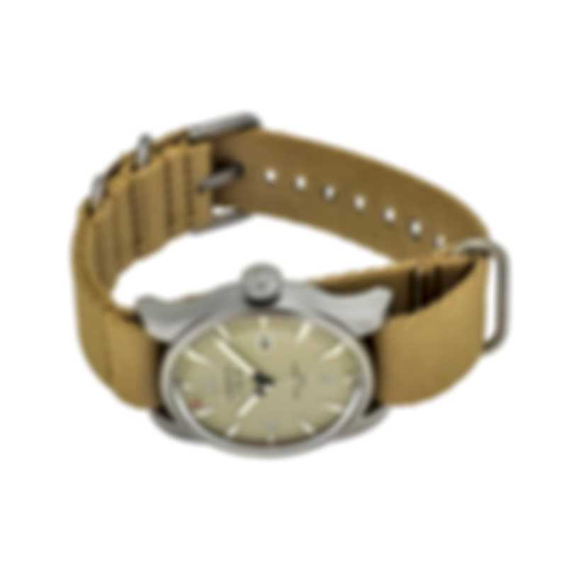 Benrus Classic Watch Stainless Steel Automatic Men's Watch C1-SB-BE-NT