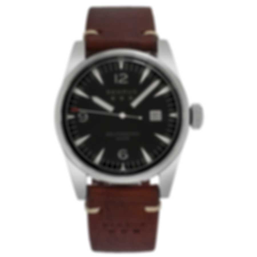 Benrus Classic Automatic Men's Watch C2-P-BK-LBR