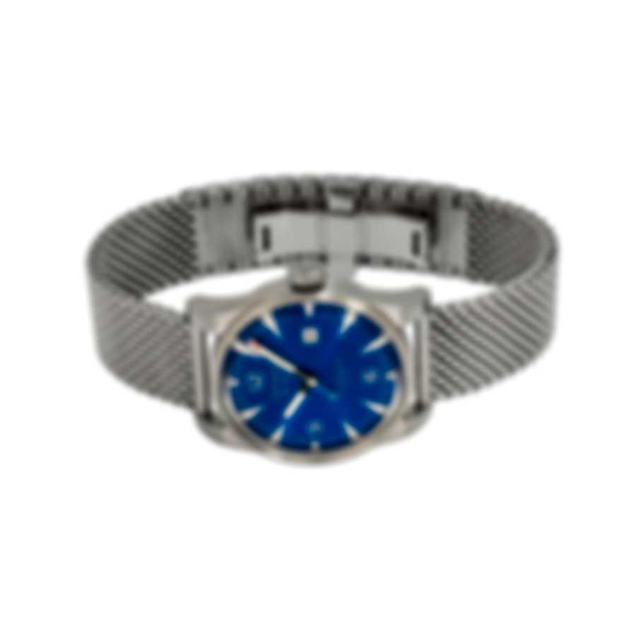Benrus Classic Blue Dial Automatic Men's Watch C3-SA-BL-SM