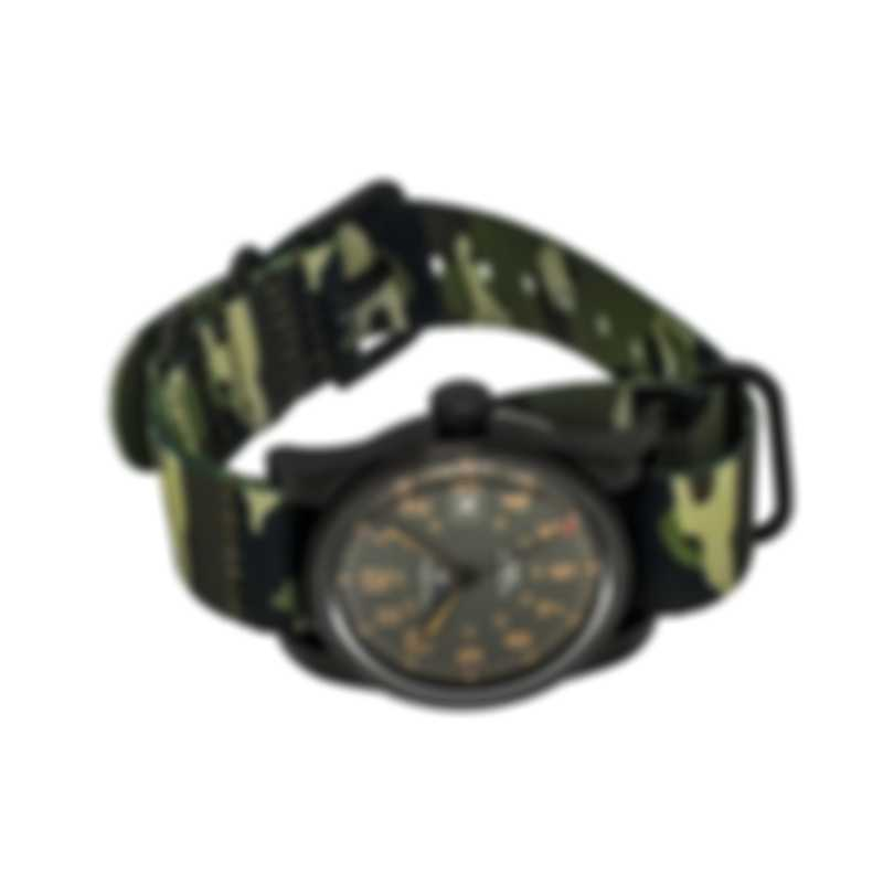 Benrus Field Watch Automatic Men's Watch F1-BK-BK-NC
