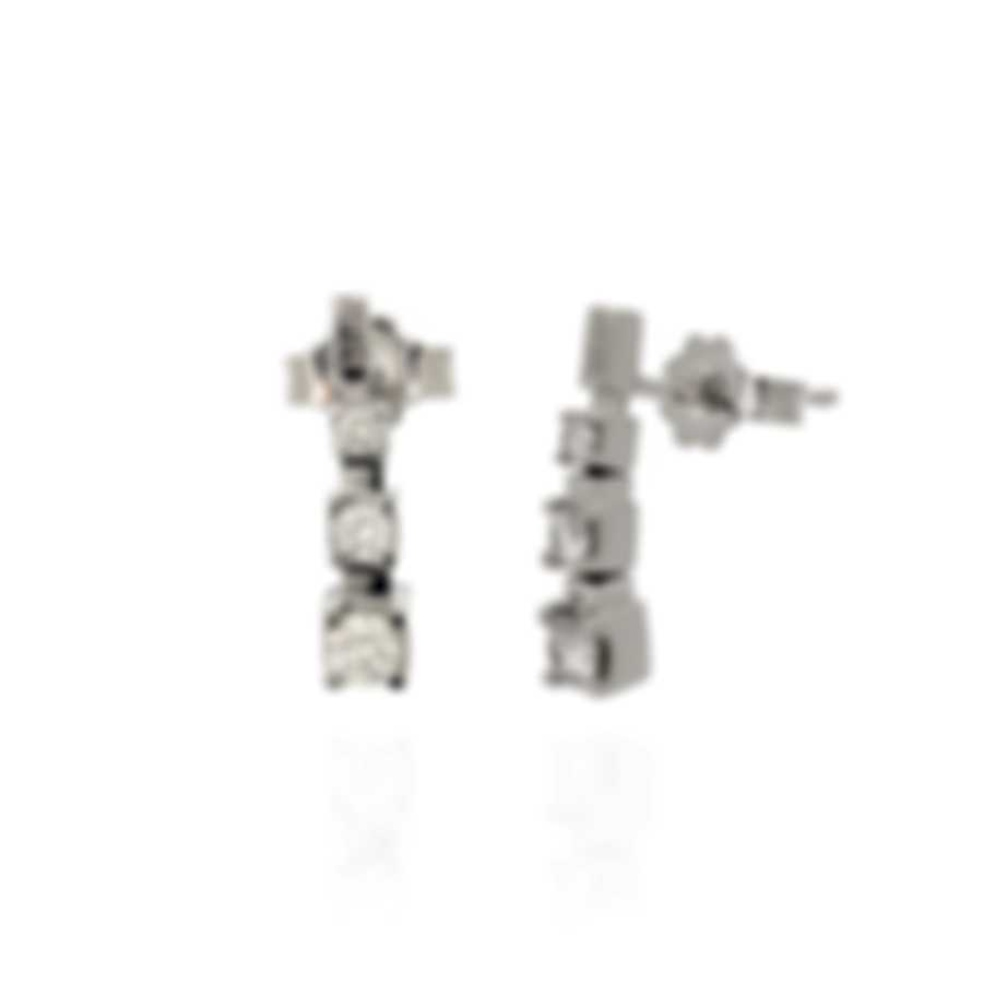 Bliss By Damiani 18k White Gold Diamond 0.3ct  Earrings 20025198