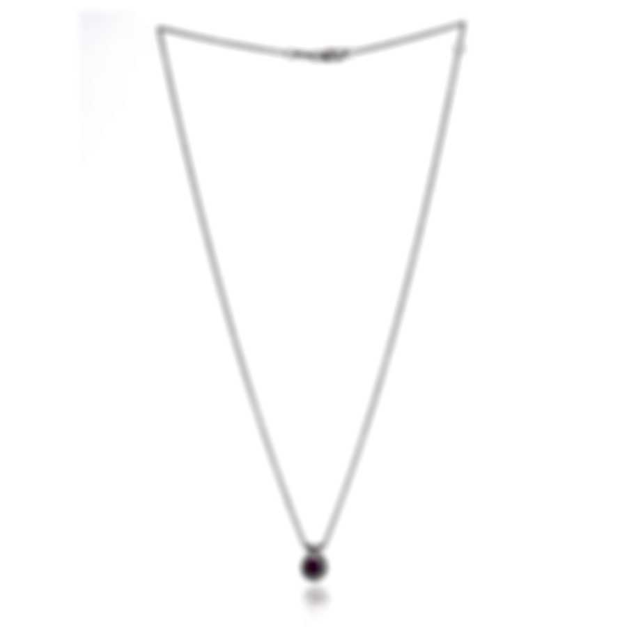 Bliss By Damiani 18k White Gold Diamond(0.07ct Twd) Ruby Necklace 20039354