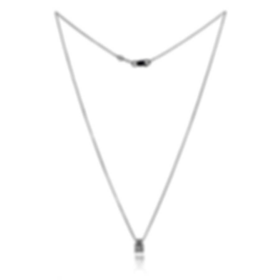 Bliss By Damiani 18k White Gold Diamond 0.18ct Necklace 20044608