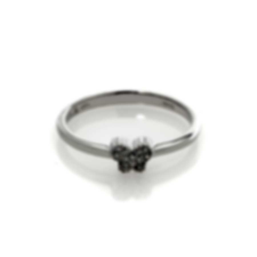 Bliss By Damiani 18k White Gold Diamond 0.05ct Ring Sz 6.25 20059230