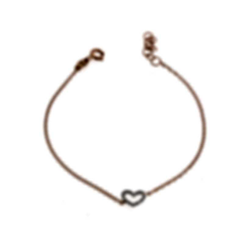 Bliss By Damiani 18k Rose & White Gold Diamond 0.08ct Bracelet 20067258