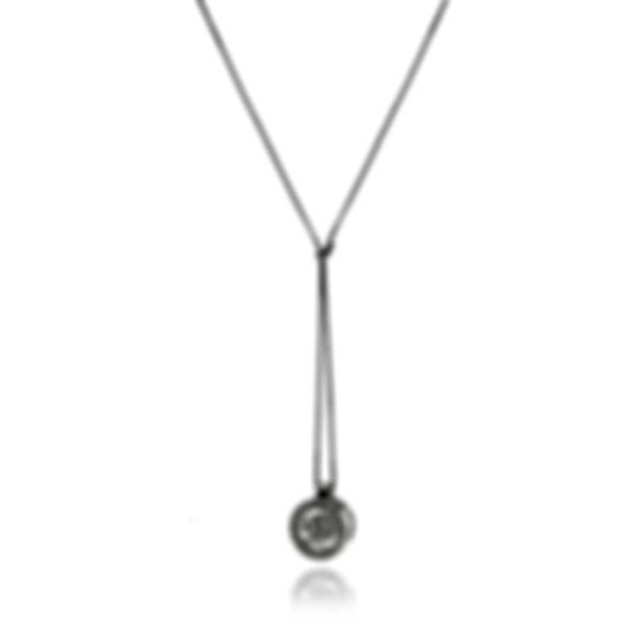 Bliss By Damiani 18k White Gold Diamond 0.12ct Necklace 20075477