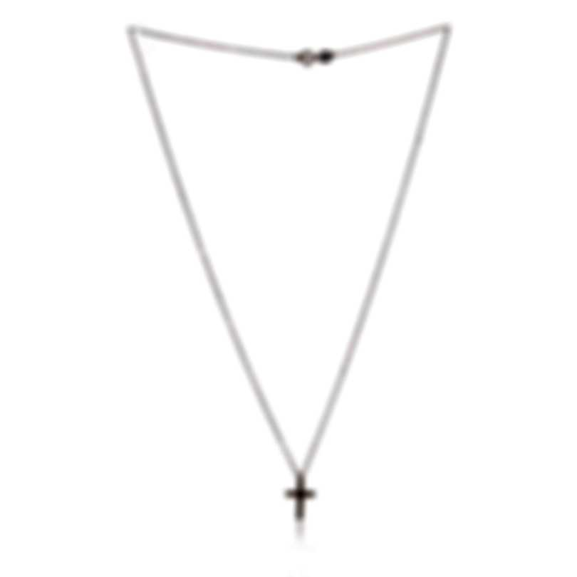 Bliss By Damiani 18k Rose Gold Brown Diamond 0.075ct Necklace 20077235