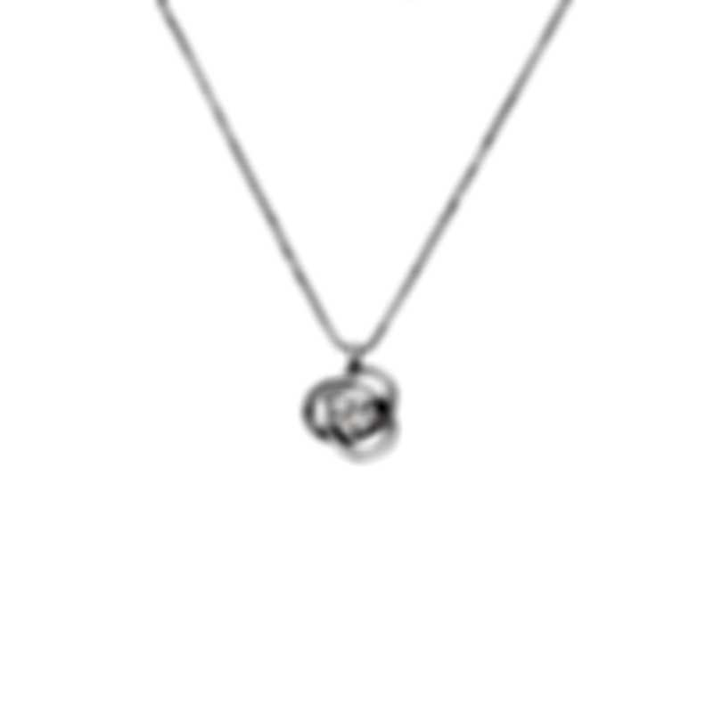 Bliss By Damiani 18k White Gold Diamond 0.25ct Necklace 20070962