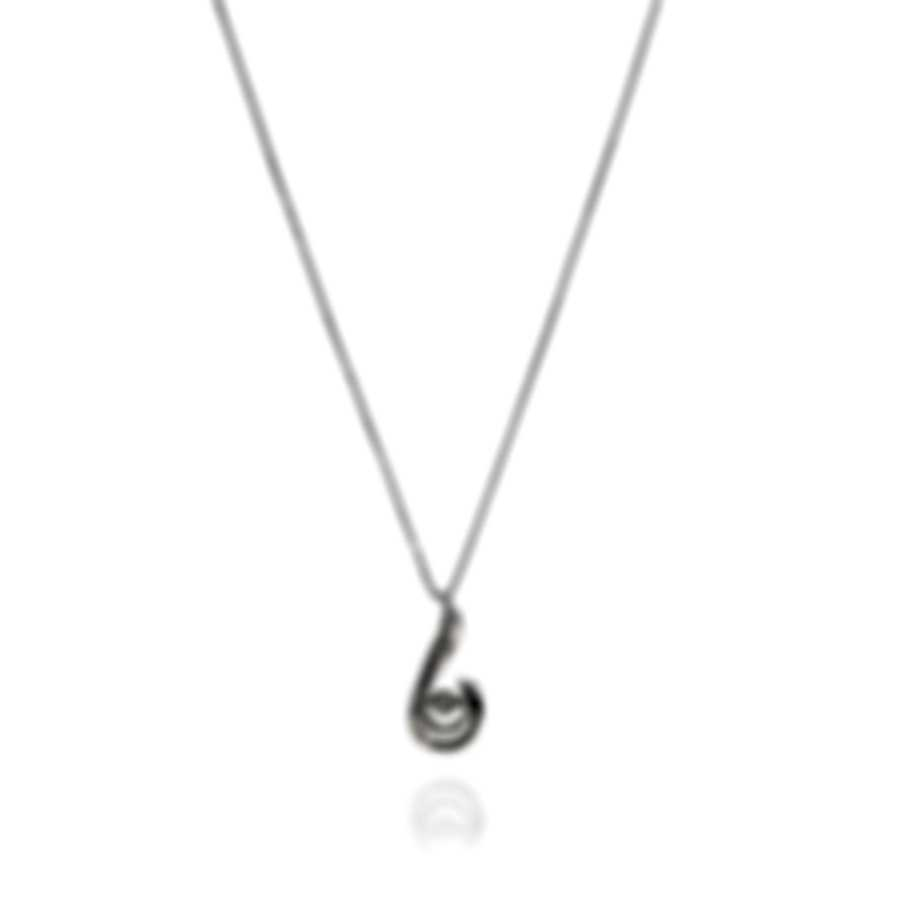 Bliss By Damiani 18k White Gold Diamond 0.13ct Necklace 20070963