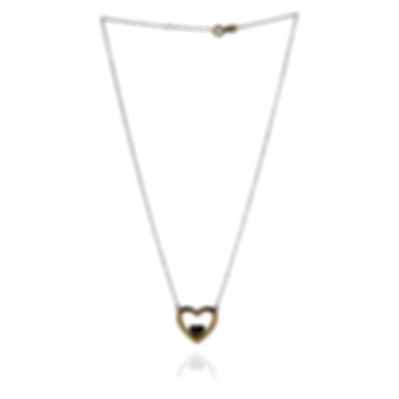 Bliss By Damiani 18k Yellow And White Gold Diamond 0.06ct Necklace 20073585