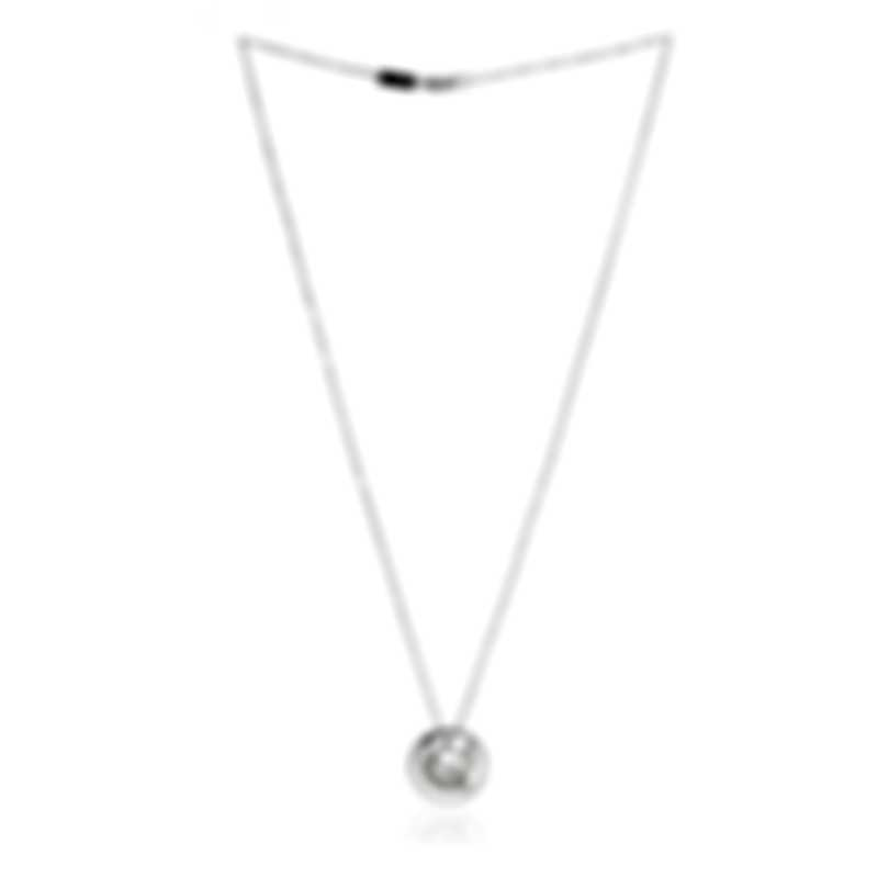 Bliss By Damiani 18k White Gold Diamond 0.08ct Necklace 20073950