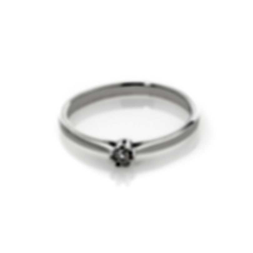 Bliss By Damiani 18k White Gold Diamond 0.05ct Ring 20084210-1-1-1