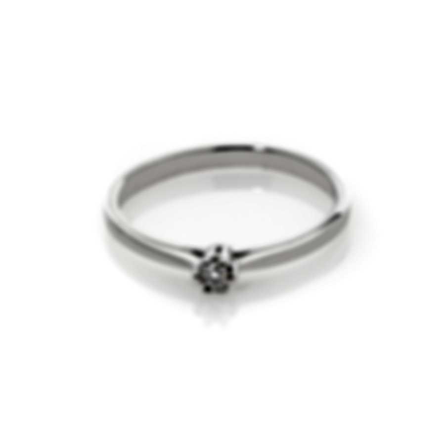 Bliss By Damiani 18k White Gold Diamond 0.05ct Ring 20084210-1-1
