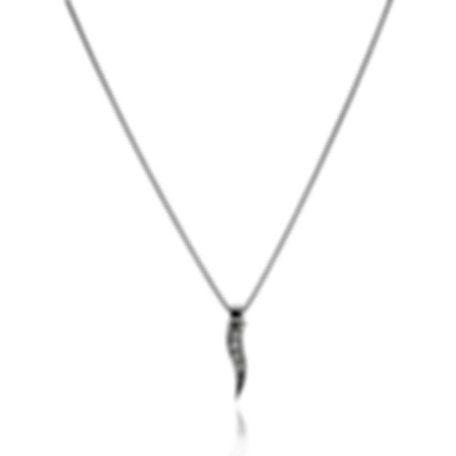 Bliss By Damiani 18k White Gold Diamond(0.02ct Twd.)Necklace 20084228