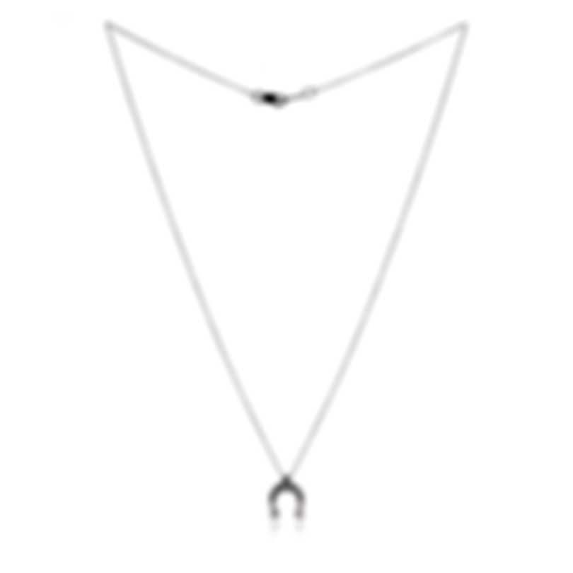 Bliss By Damiani 18k White Gold Diamond(0.035ct Twd.)Necklace 20084222