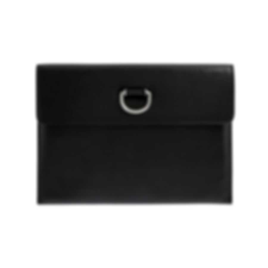 Burberry Black & Emerald Leather Wallet 4076658