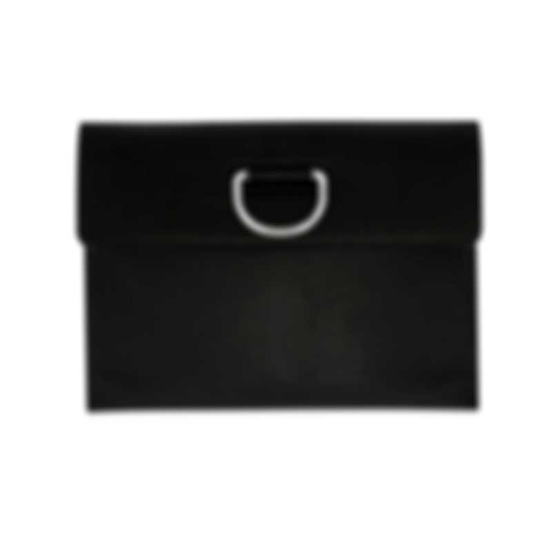 Burberry Black & Emerald Leather Wallet 8005348