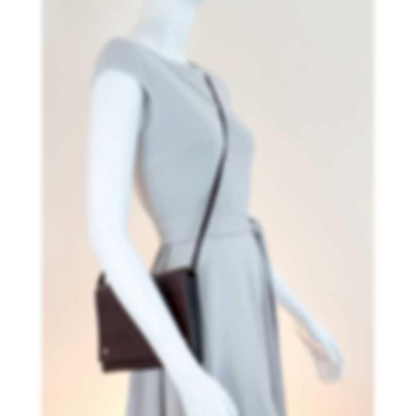 Burberry Oxblood Leather Crossbody Handbag 8011483