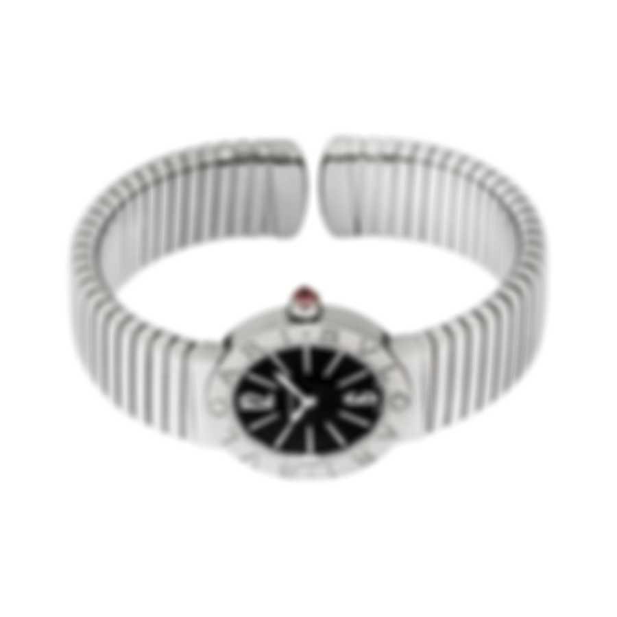 Bvlgari Tubogas Stainless Steel Quartz Ladies Watch 102097